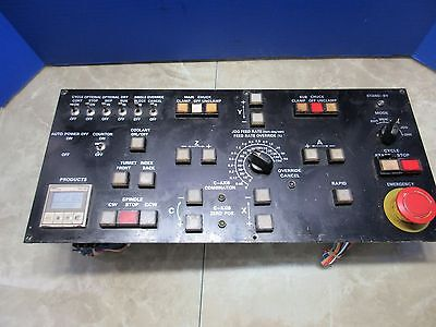 Mitsui Seiki Vr-3a Cnc Vertical Mill Operator Panel Axis Control Switch Unit