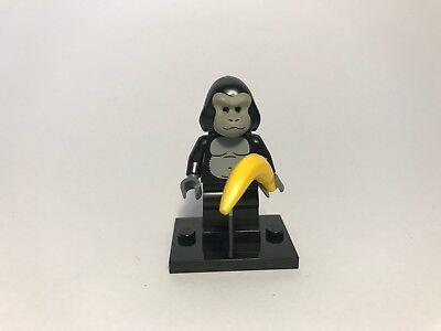 Lego Minifigur Kostüm (LEGO ® Minifigur Sammelserie 3 8803 Affe Mann im Affenkostüm (NR.12))