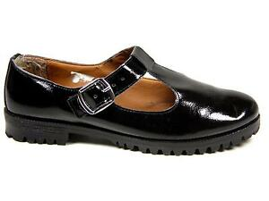 Black T Bar Shoes Patent