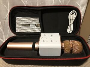 Microphone with built in Speaker