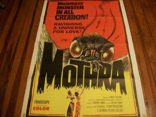 Mothra  poster  1962