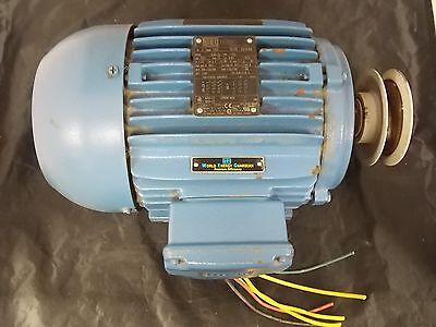 Weg 25955024 Fan Motor W21 Severe Duty Frame 145t 2hp 1.5kw 1755rpm Xlnt