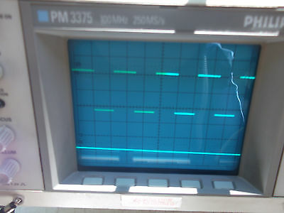 Philips Pm3375 Dual Channel Digital Storage Oscilloscope 100 Mhz