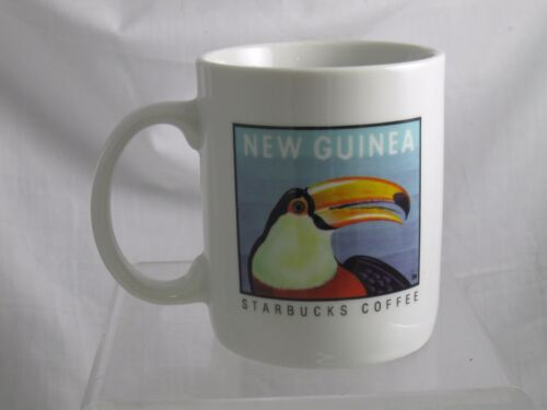 Starbucks Coffee Mug New Guinea South Pacific Tropical Toucan Bird 10-12 Ounces