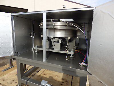 36 Vibratory Bowl Feeder With Control Sound Enclosure Stainless Steel