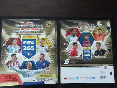 Panini FIFA 365 Saison *2017* INT EUROPA 3 x DISPLAY BOX 150 Tüten packets ED