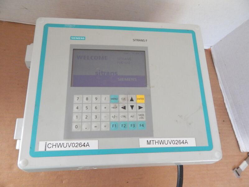 Siemens Sitrans F 2 Channel Ultrasonic Flowmeter,FUE1010,1010EDNRE-T1A1KDXGS-S2