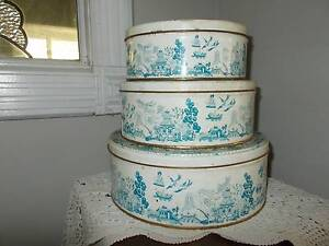 willow cake/biscuit tins Tallai Gold Coast City Preview
