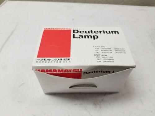 New Hamamatsu Deuterium Lamp X2D2 160-400nm Synthetic Silica
