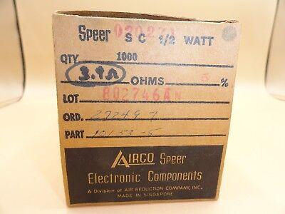 Speer - Pack Of 1000 - Resistors 3.9 Ohm 12 Watt