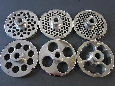 Pick Your Size 12 Ssteel Meat Grinder Plate W Hub Northern Tool Mtn Weston