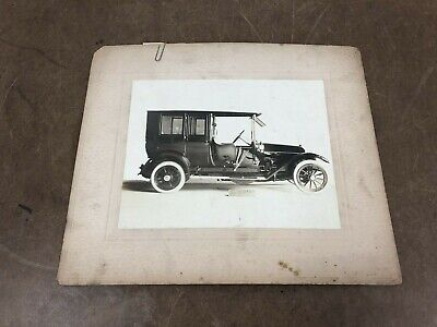 Vintage HEALEY & COMPANY CARRIAGE PRINT Photo Buggy Advertising Studio Picture