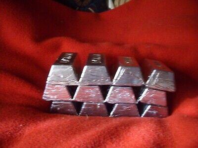 LEAD INGOT bars many uses; bullet casting reloading 25 LB plus etc sinkers