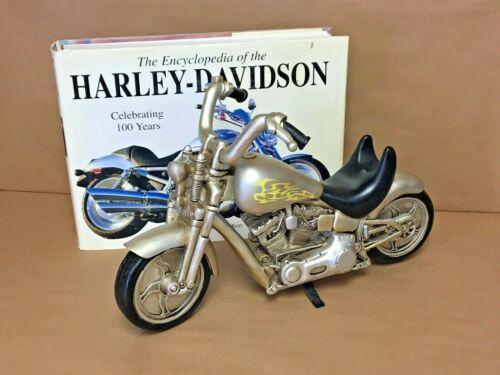Resin Painted Motorcycle Statue Sculpture Harley Davidson Hardback Encyclopedia