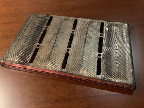 LOCKWOOD COMMERCIAL 4 LOAF BAKING PAN   BREAD PAN lids