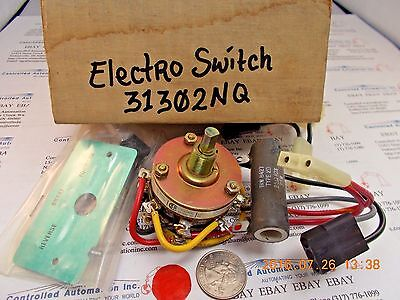 Electroswitch 31302nq Rotary Switch