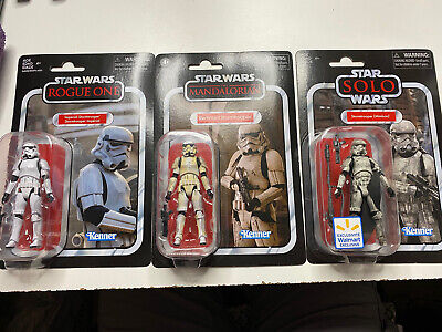 Star Wars Vintage Collection Stormtrooper Figure Lot Mimban Remnant Rogue One