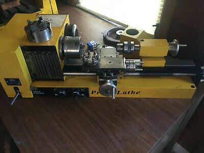 Prazi Mini Metal Lathe South Bend Clausing Monarch Atlas Rockwell Bridgeport Jet
