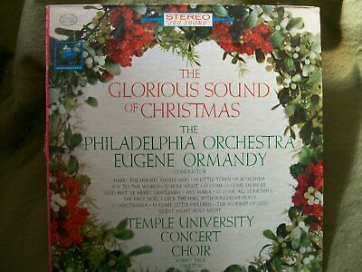 THE GLORIOUS SOUND OF CHRISTMAS PHILADELPHIA ORCHESTRA EUGENE ORMANDY RECORD  ()