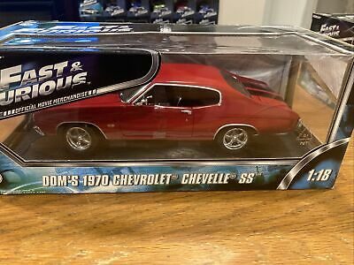 1:18 Fast Furious 1970 Chevelle SS Red