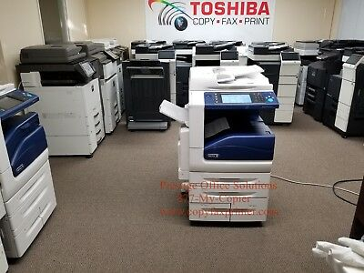 Xerox Workcentre 7835 Color Copier. Low Meter