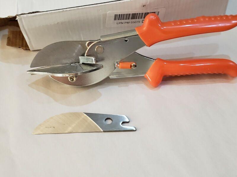 Multi Angle Miter Cutter Plus Spare Blade Hand Shear Multipurpose Tool