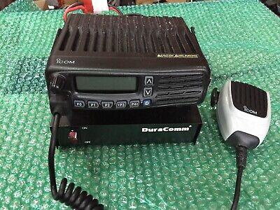 Icom Ic-f6061d Uhf Mobile Transceiver Radio 512ch W Duracomm Psu Lp-14 Mic L2