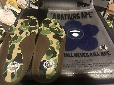 A Bathing Ape Boot Insole Size 9