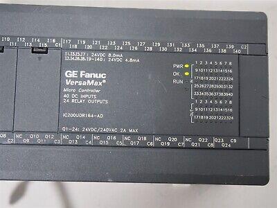 Ge Fanuc Versamax Ic200udr164-ad Micro Controller