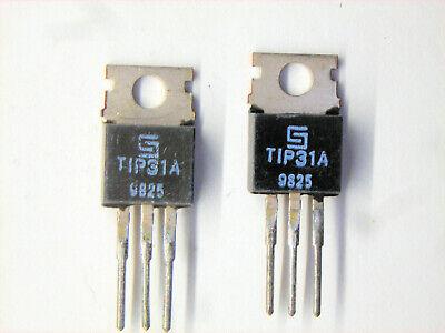Tip31a Original Solid State Transistor 2 Pcs