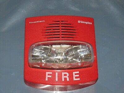 Simplex 4903-9426 Fire Alarm Horn Strobe Combo