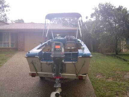 4,5m fiberglass boat