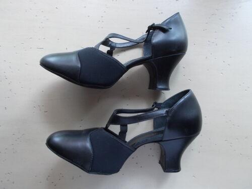 $84 Black Capezio Broadway Flex Character Dance Shoe Women