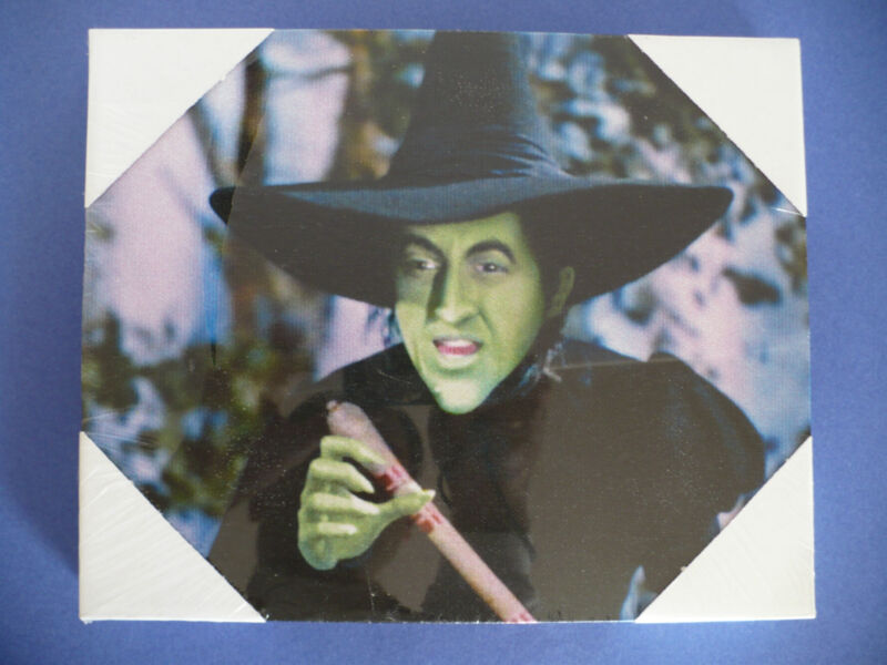 Wizard of Oz Bad Witch of the West Canvas Print Wall Hanging Art Wicked Witch