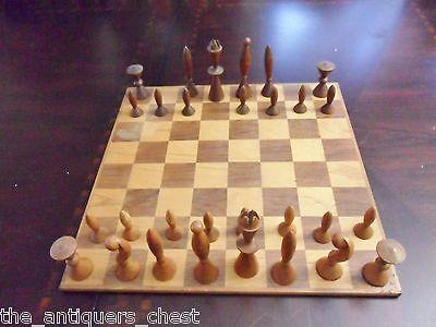 ANRI - Universum Chess Set by Arthur Elliott for Anri, Italy[a*art]
