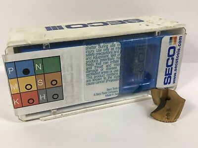 Seco Sd100-16.40-p New Carbide Insert Drill Tip 1pc