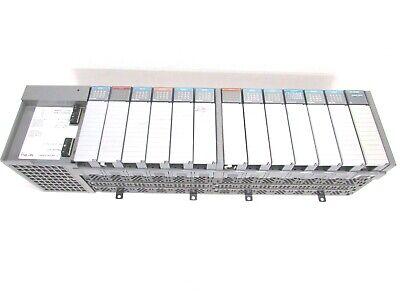 Allen Bradley Slc500 1746-a13 13-slot Rack Ser. B W Power Supply Output Input