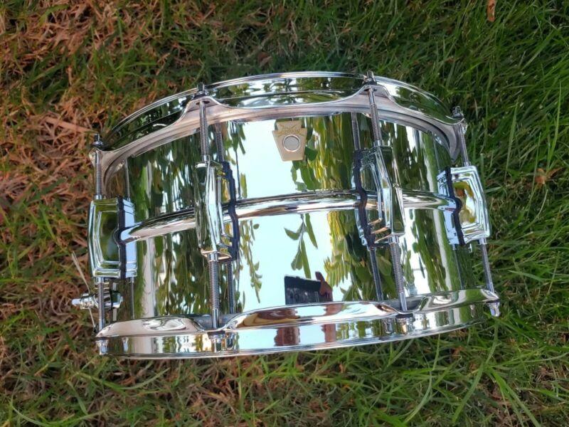 Ludwig supraphonic 6.5x14 lm402 snare drum