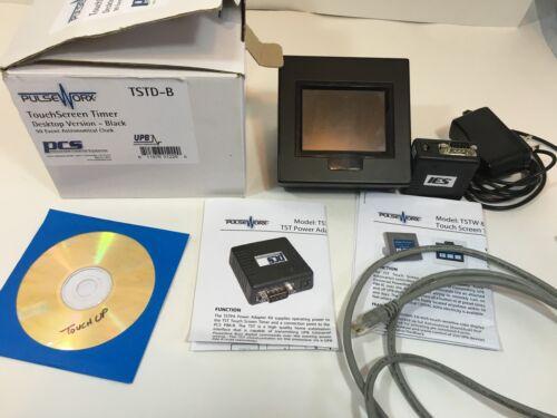 Pulseworx TouchScreen Timer TSTD-B Desktop Version 99 Event Astronomical Clock