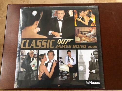 James Bond Classic 007 Calendar 2005 Brand New ** Sealed**