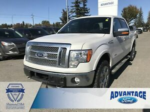 2012 Ford F-150 Lariat Leather Bucket Seats - Cruise Control