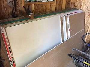 "4x8 sheets of 5/8"" drywall"