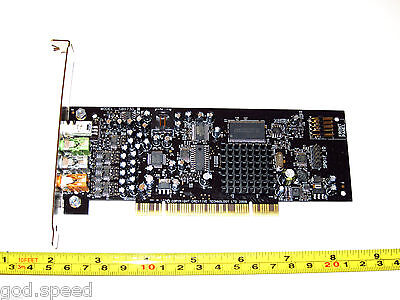Sound Blaster X-Fi XtremeGamer 7.1 Windows 10 8 7 Vista PCI HD Gaming Sound Card