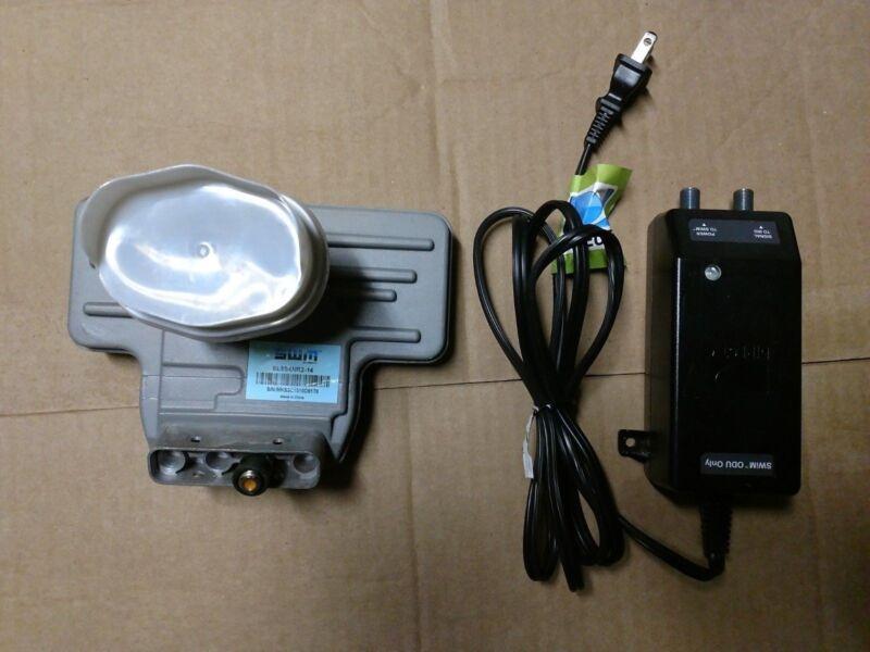 DirecTV SWM 3 LNB and P21 Power Supply Inserter Slimline SL3 SWiM HD LNBF