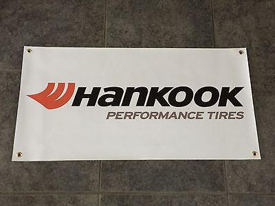 HANKOOK PERFORMANCE TIRES banner sign shop garage racing street off road track