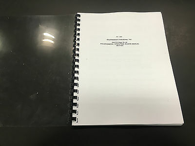 Prototrak-plus Prototrak Proto Trak Plus Programming Operating Care Manual