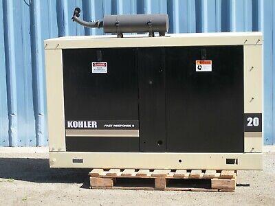 20 Kw Kohler Ford Gasoline Generator Generating Set