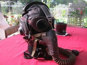soviet/Russian fighter pilot helmet,oxygen mask ,goggles. Goolwa Alexandrina Area Preview