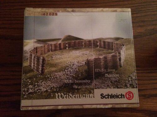 Schleich 42029 Wicker Fence New in Box!