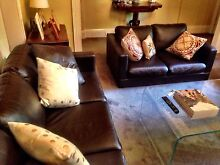 2 seater leather couch Woolloomooloo Inner Sydney Preview